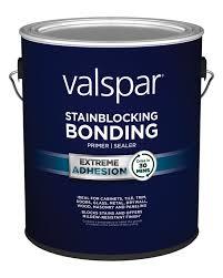 how to apply valspar cabinet paint valspar stainblocking bonding primer sealer