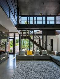 industrial modern house designed to promote the outdoors and