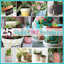 25 flower pot diy u0027s the cottage market
