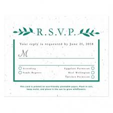 wedding response card plantable seed wedding reply cards catalog botanical paperworks
