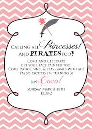one fabulous mom princess and pirate party