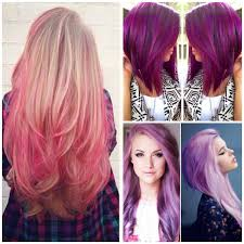 perfectly shocking colors of funky girls u0027 hairstyle hairzstyle