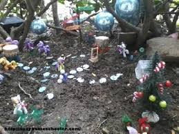 fairy garden in winter suzy homeschooler