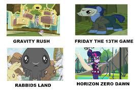 Video Games Meme - my little pony videogames meme 16 by brandonale on deviantart