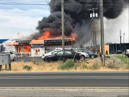 Wildfires Near Ephrata Wa by Fire Burns Up Gas Station In Othello Columbia Basin Ifiberone Com