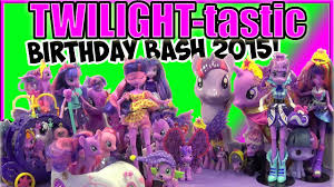 twilight tastic birthday bash 2015 twilight sparkle