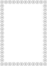 cornici in word coloriage bordures gratuit 12637 d礬coupages bricolages