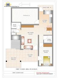 indian house designs and floor plans contemporary india house plan 2185 sq ft indian home decor