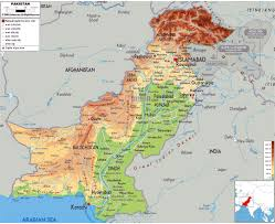Physical Map Of East Asia by Maps Of Pakistan Detailed Map Of Pakistan In English Tourist