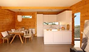 modern log home interiors wood cabin design in scandinavian style l white kitchen dreaming