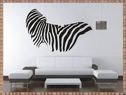 zebra wall decals livingroom zebra wall decals ideas u2013 home