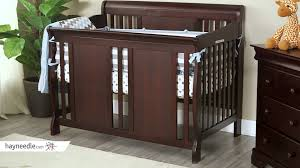 Convertible Crib Espresso by Thomasville Dover 3 In 1 Convertible Sleigh Crib Espresso