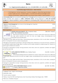 free executive chef resume templates
