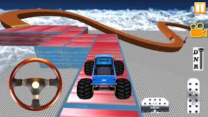 monster truck video game play monster truck impossible stunt 3d game monster truck android
