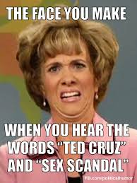 Sex Face Meme Female - funniest ted cruz memes and pictures