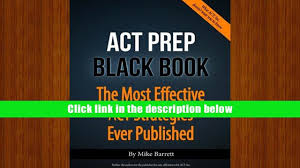 free download act prep black book the most effective act