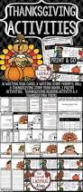 elementary thanksgiving activities best 25 fourth grade thanksgiving activities ideas on pinterest