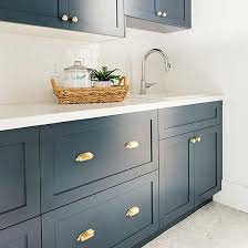 what color hardware for navy cabinets cabinet paint color trends to try today and forever