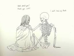death inspired love comics that i create to cope with my