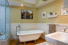 Bathroom Wainscotting Best Wainscoting In Bathroom Ideas House Design And Office