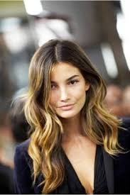 highlights vs ombre style lily aldridge s muted makeup and tousled waves timeless style