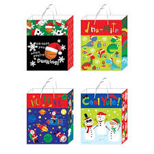 christmas gift bag large playful christmas gift