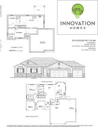 roosevelt floor plan roosevelt plan 2664 sqft u2013 innovation homes