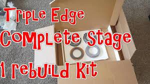 triple edge performance stage 1 complete rebuild kit youtube