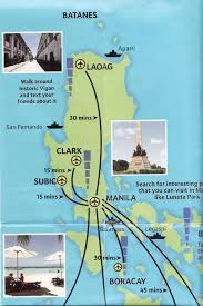 Map Of Phillipines Map Of Manila And Philippines And Tourist Info