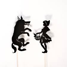 red riding hood shadow puppet printables adventure box