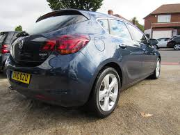 used 2010 vauxhall astra 1 4 sri 16v turbo 5dr manual petrol for