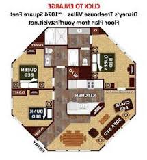 saratoga springs treehouse villa floor plan treehouse villas at
