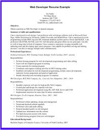 Sample Resume For Sharepoint Developer Sample Resume For Junior Web Developer