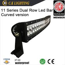 battery operated light bar super slim curved battery powered led off road light bar with flood