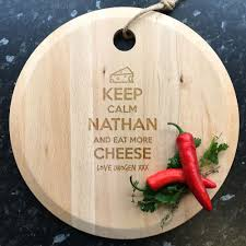 engraved cheese board engraved cheese board beechwood keep calm and eat more cheese