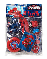 amazon com spider man party favor pack value pack party