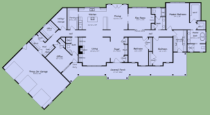 large one story homes large one story house plans