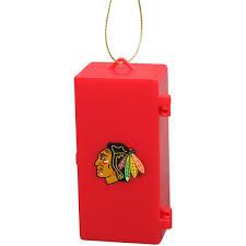 chicago blackhawks team locker ornament fanatics