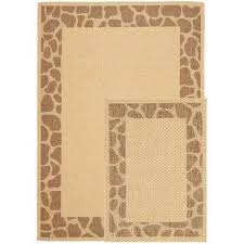 Safavieh Outdoor Rugs Safavieh Animal Print Outdoor Rugs Rugs The Home Depot