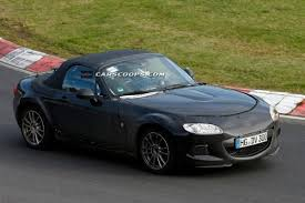 Scoop Test Mule For New 2015 Mazda Mx 5 And Alfa Romeo Spider