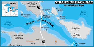 map of mackinac island straits of mackinac island map ferry and hotels travel information