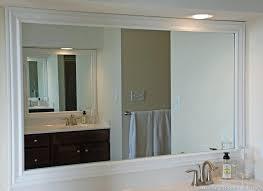 how to frame a bathroom mirror with molding frame around bathroom mirror crown molding mirror frame bathroom