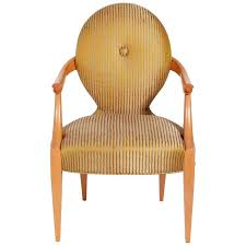 armchair design elegant armchair designed by john hutton for donghia for sale at 1stdibs