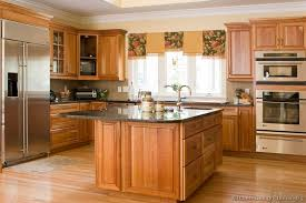 Pictures Of Kitchens Traditional Medium Wood Cabinets Golden - Brown cabinets kitchen