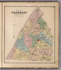 Media Pa Map Franklin County Pennsylvania David Rumsey Historical Map