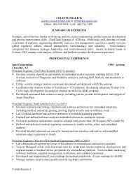 Biomedical Technician Resume Sample by Sample Resume Principal Engineer Contegri Com