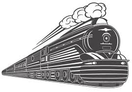 old train free vector clip art library