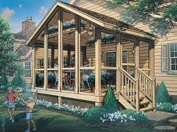 house plans with screened porches autumn screened porch plan 002d 7502 house plans and more