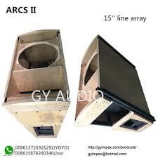 empty 15 inch speaker cabinets 15 inch empty box line array speakers arcs ii cabinet buy arcs ii
