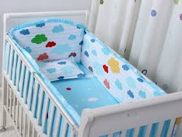 Baby Boy Cot Bedding Sets Promotion 6pcs Baby Crib Bedding Sets Baby Boy Cot Bedding Sets